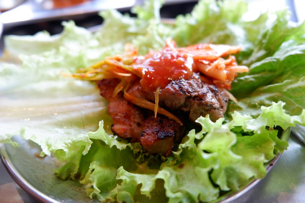 "ALT=""ways to eat samgyupsal korean meat"""