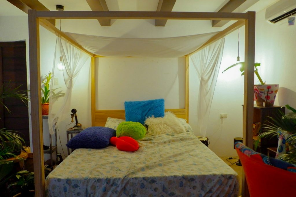 """ALT=""""boho-themed staycation and the bedroom villa"""""""