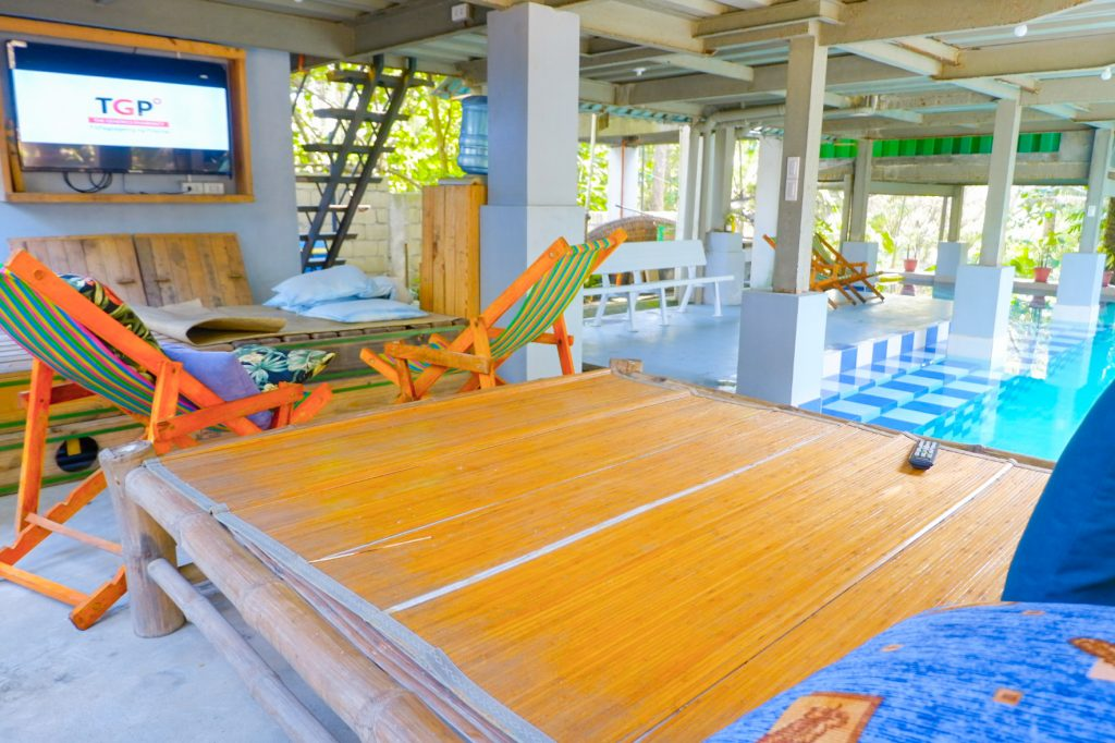 "ALT=""balituk baler staycation is a beach front accommodation"""