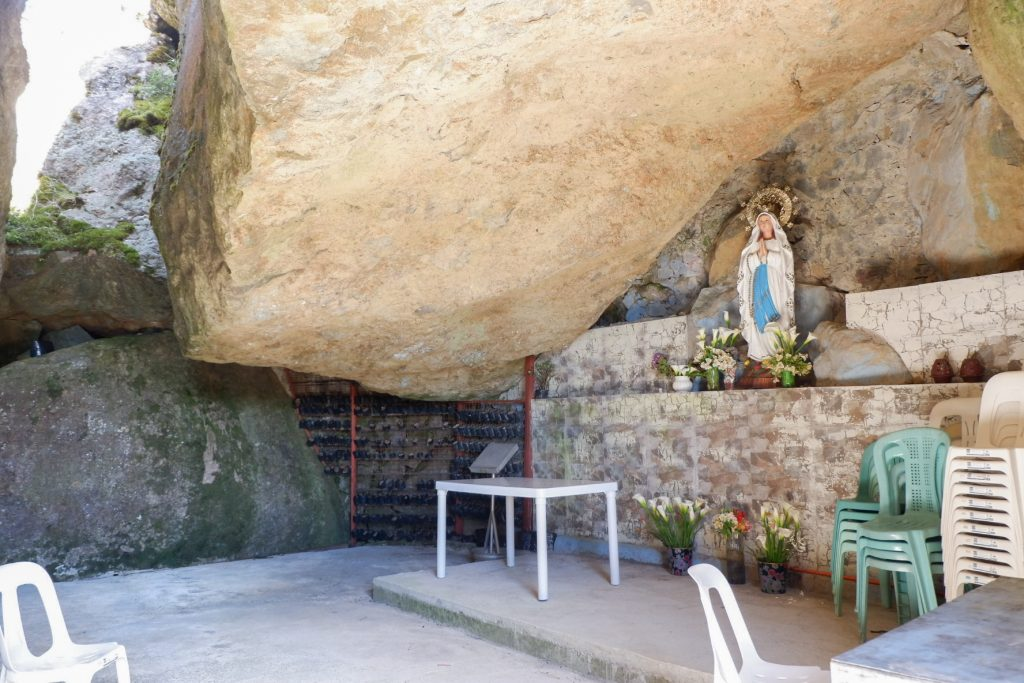 "ALT=""grotto to visit in benguet car region"""