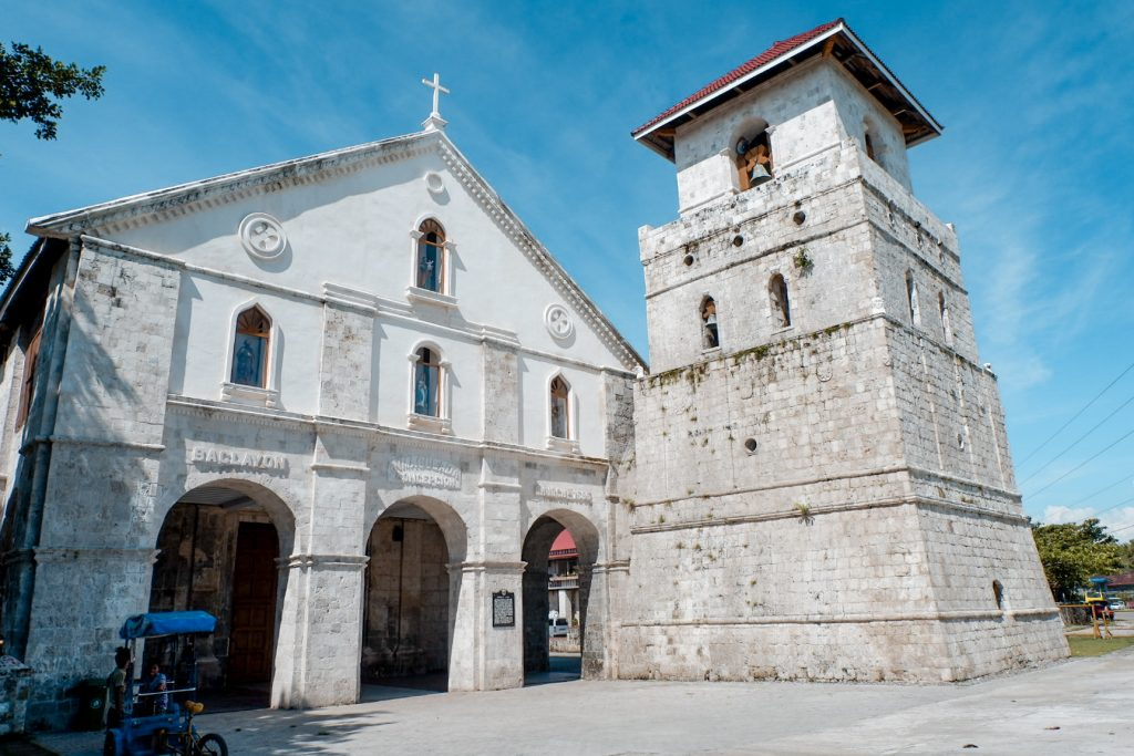 "ALT=""bohol travel guide and the baclayon church"""