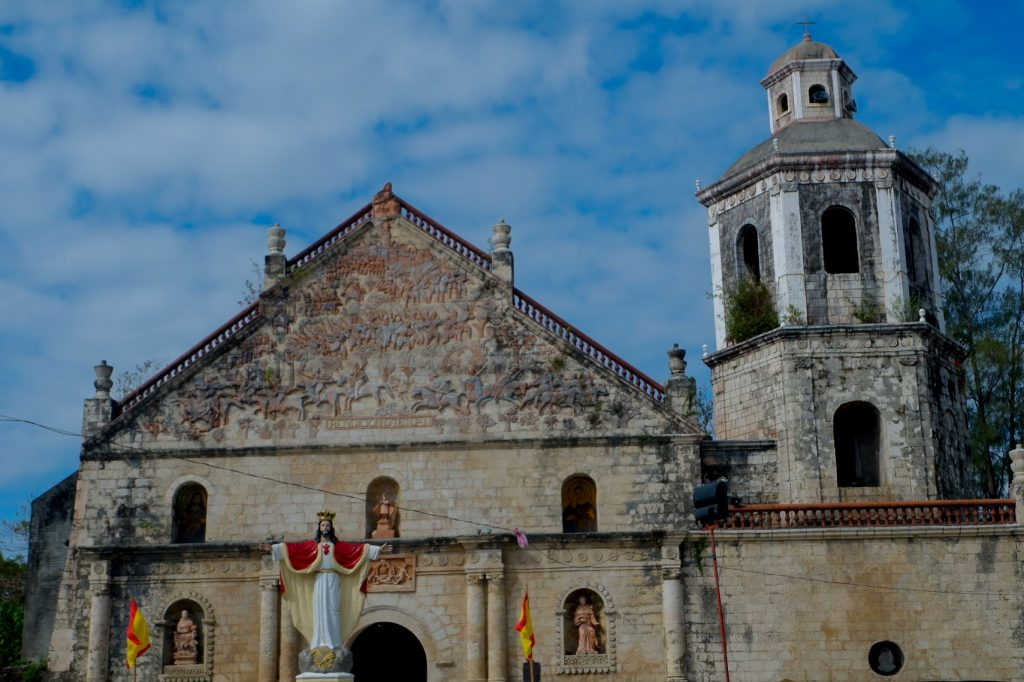 "ALT=""churches to visit in iloilo san joaquin church"""