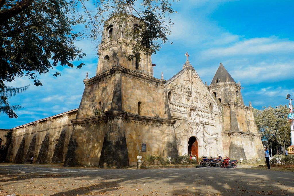 "ALT=""churches to visit in iloilo and the miagao church"""