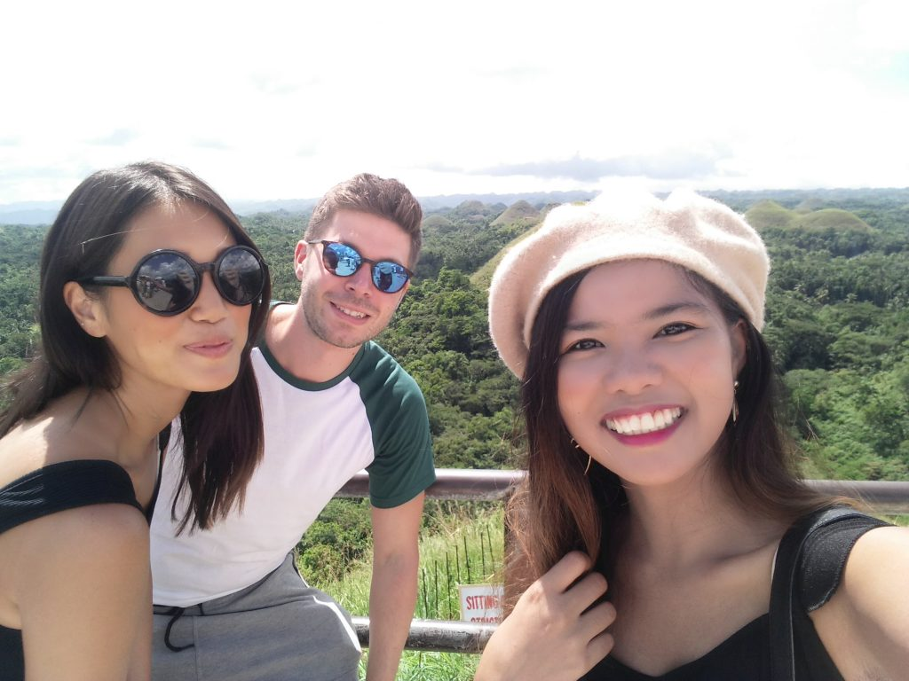 "ALT=""people who i met in bohol from solo travel"""