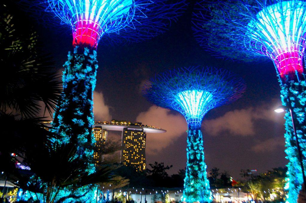 """ALT=""""singapore travel guide and the lion city gardens"""""""