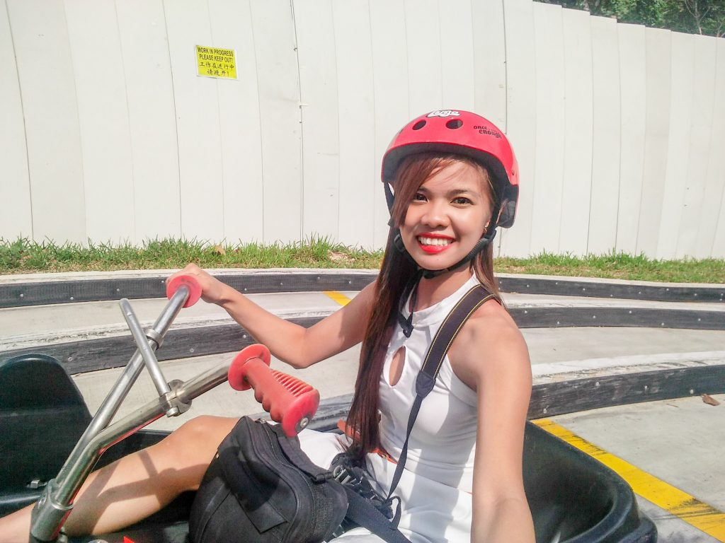 "ALT=""the skyline luge at the universal studio singapore"""