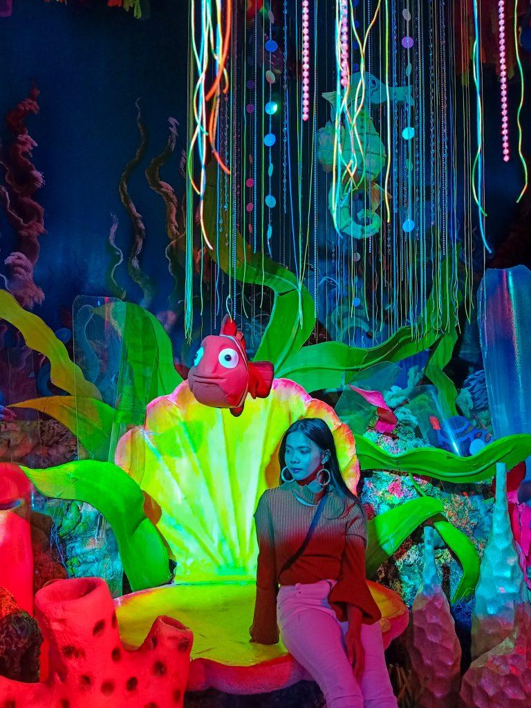 """ALT=""""the underwater portal inside lakbay museo"""""""