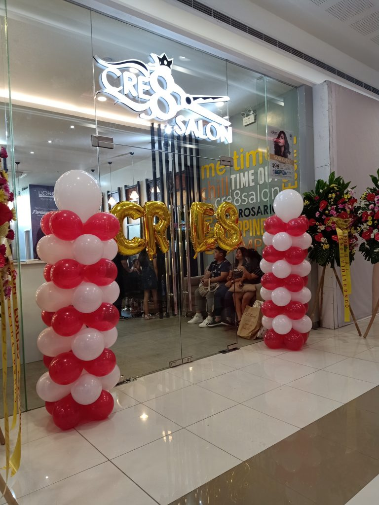 "ALT=""cre8 salon opens at sm rosario city cavite"""