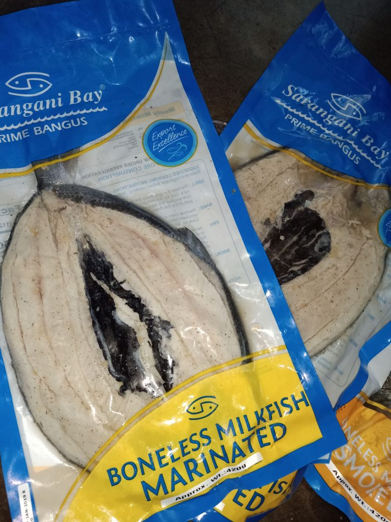 "ALT=""sarangani bay prime bangus with its premium quality seafood"""