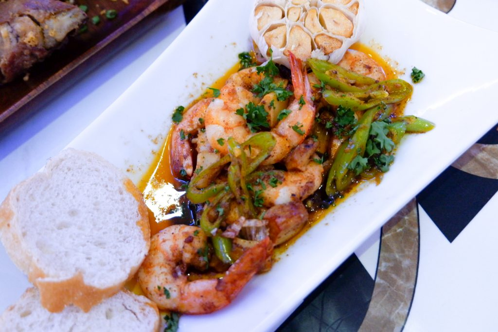 "ALT=""jose restaurant sm bacoor garlic shrimp"""