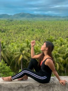 """ALT=""""coconut palm trees viewing deck siargao"""""""