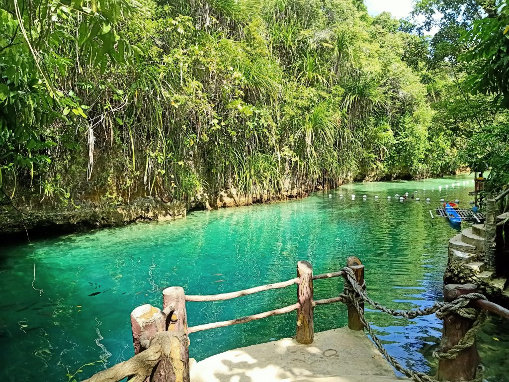"ALT=""enchanted river surigao del sur"""