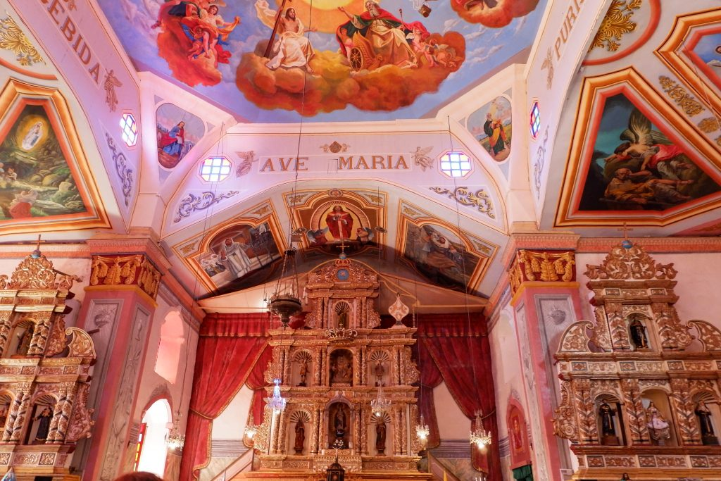 """ALT=""""things to do in bohol visit churches"""""""