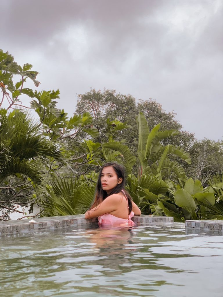 jacuzzi experience at the resort