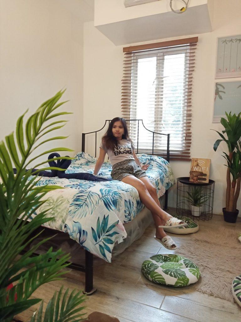 inside room of casa raffa tagaytay
