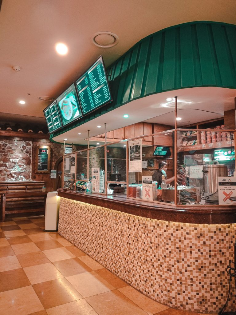 new lasema spa eating area