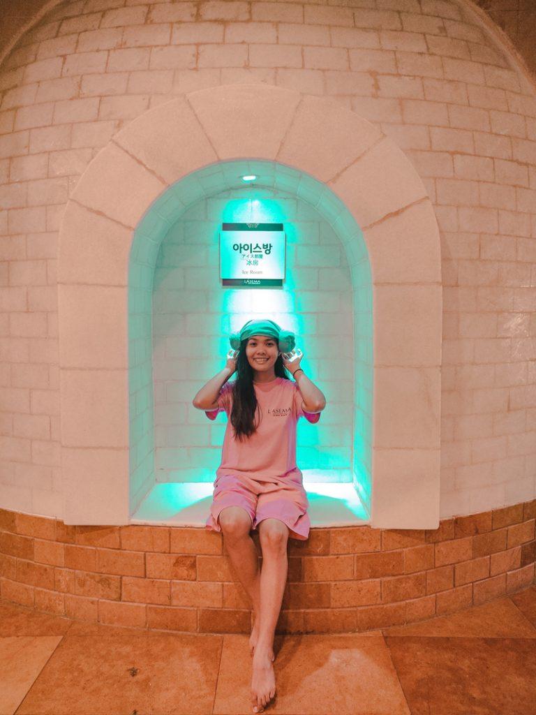 the ice room spa
