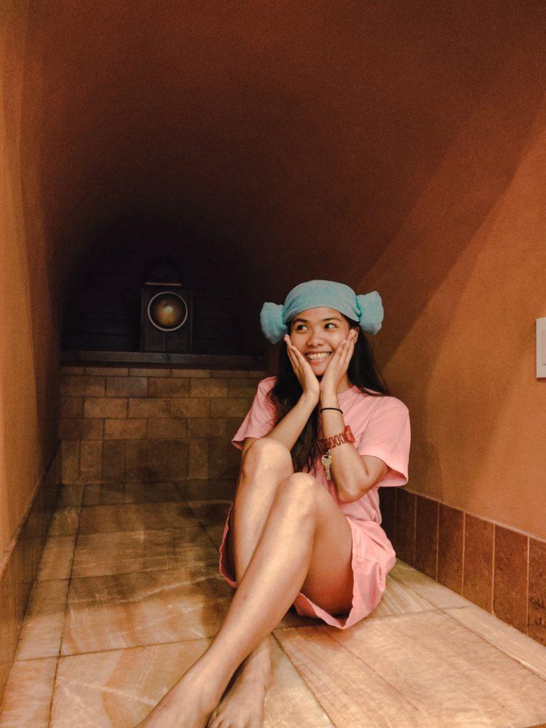 relaxing sauna at new lasema spa