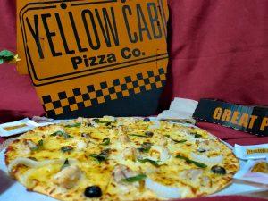 Yellow Cab's New Favorite: Chicken Alfredo Pizza