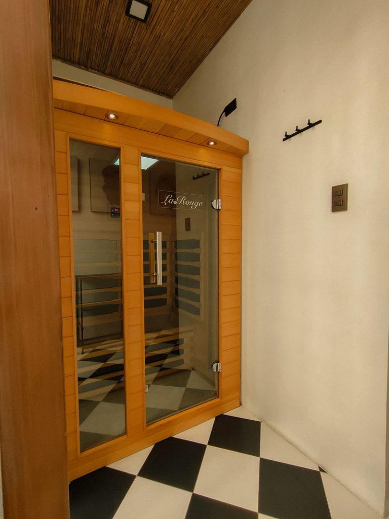 sauna room unwnd lux hostel makati