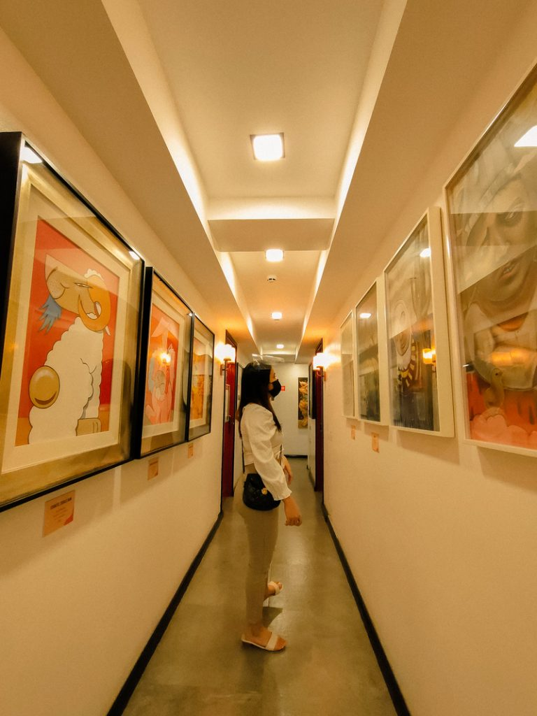 the gallery at unwnd lux hostel